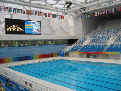 Olympic park for Beijing swimming pool olympics